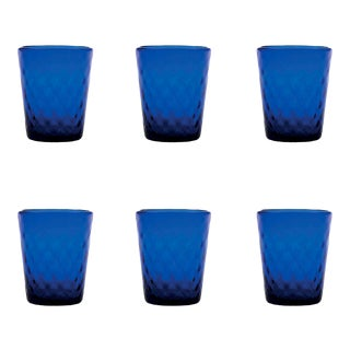 Balloton Tumbler in Blue - Set of 6 For Sale