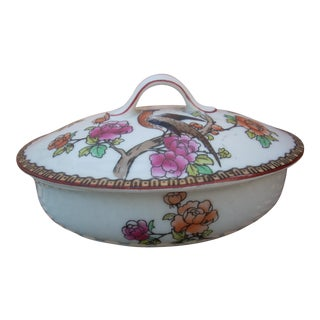 Vintage Covered Soap Dish For Sale