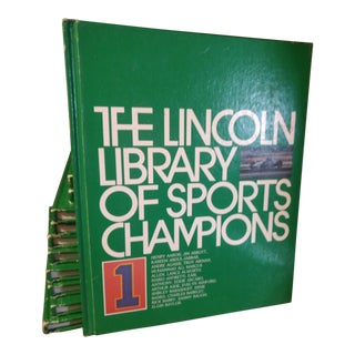 1993 Lincoln Library of Sports Champions - Set of 14 For Sale