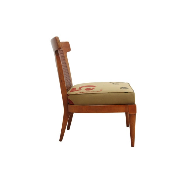 Campaign 1960s Vintage American of Martinsville Campaign Chair For Sale - Image 3 of 7