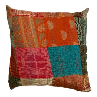 Silk Katha Pillow
