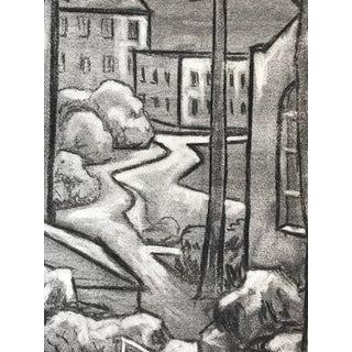 1940s Charcoal Drawing Uc Berkeley