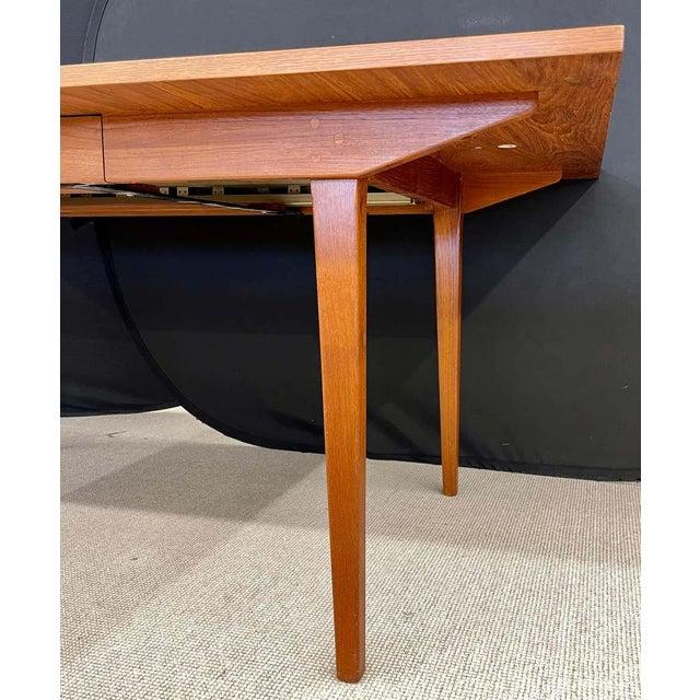 Wood George Nelson Herman Miller Dining Table, Mid-Century Modern Teak Wood For Sale - Image 7 of 13