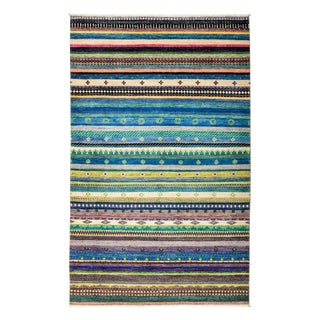 """Lori Hand Knotted Area Rug - 5'1"""" X 8'3"""""""