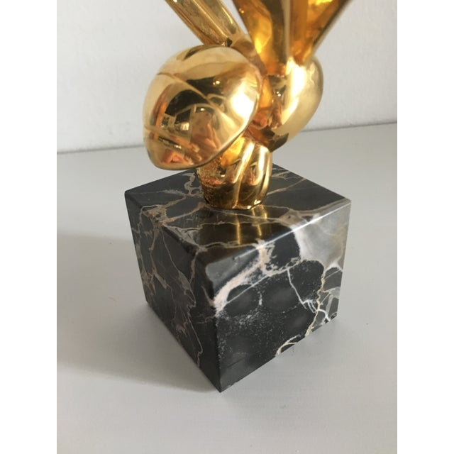 1970s Vintage G. Lachaise Brass Bee Sculpture For Sale - Image 11 of 12