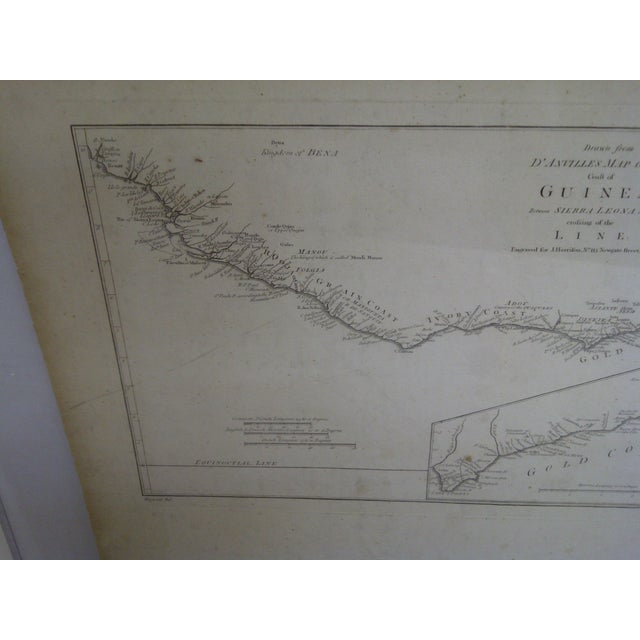 """""""Gold Coast"""", Vintage Gulf of Guinea Map For Sale - Image 4 of 8"""