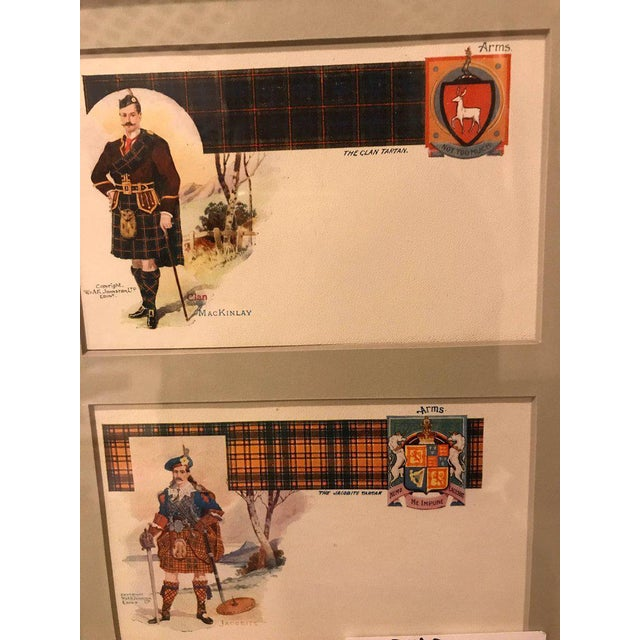 Paper Vintage Catherine Reiss Inc Custom Framed Scottish Postcards - Set of 6 For Sale - Image 7 of 10