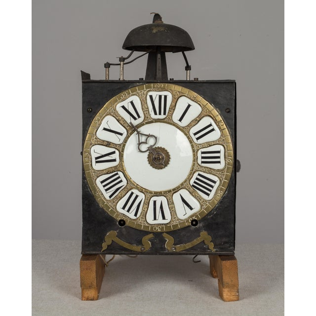18th Century French Tall Case Clock or Horloge De Parquet For Sale - Image 9 of 13