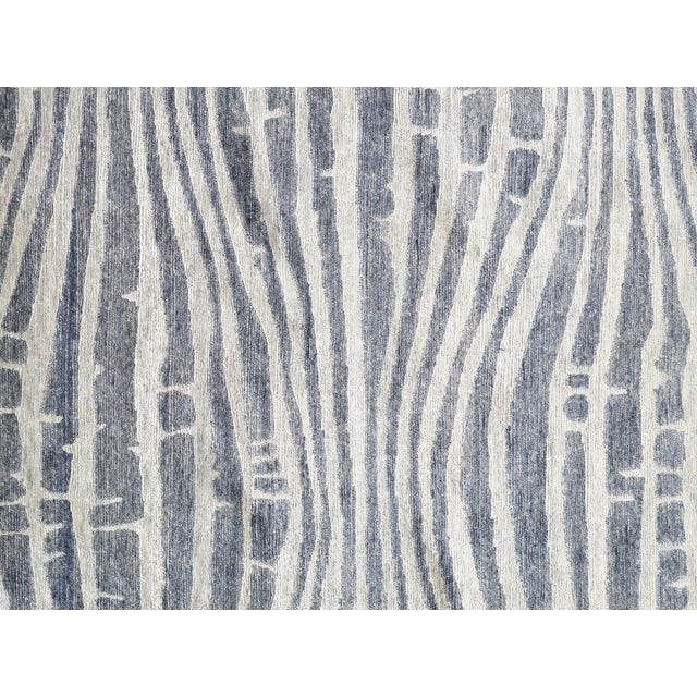 "Modern Bamboo Silk Area Rug - 9'x 11'8"" - Image 2 of 5"