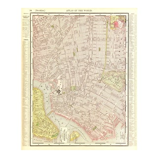 Vintage Map of Brooklyn, 1899