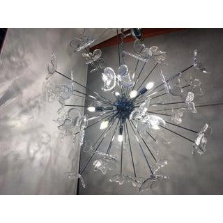 Italian Mid-Century Kromo Murano Glass Butterfly Sputnik Chandelier Preview