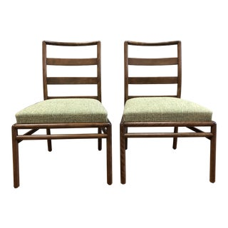 T.H. Robsjohn-Gibbings for Widdicomb Dining Chairs - a Pair For Sale