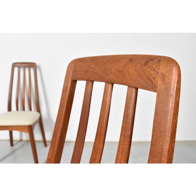 Benny Linden Teak Highback Dining Chairs - 6 - Image 6 of 11