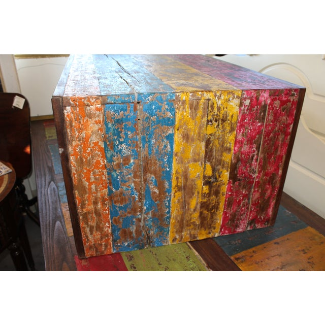 Recycled Wood Coffee Table - Image 4 of 4
