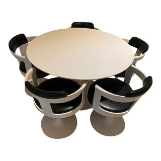 Space Age Daystrom Dining Set - 6 Pieces For Sale