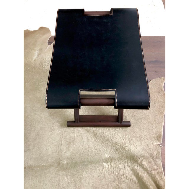Christian Liaigre Bazane Stool for Holly Hunt (30 Available) For Sale - Image 10 of 12