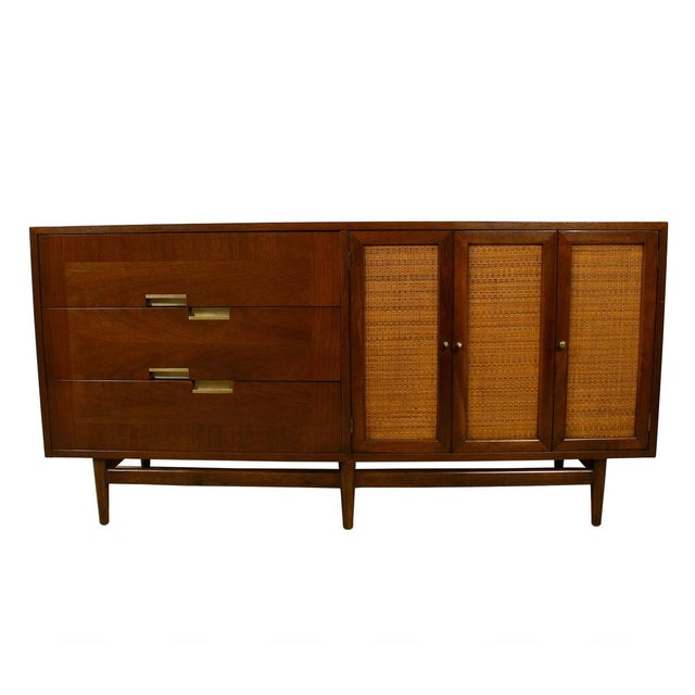 American of Martinsville Walnut Dresser Sideboard - Image 1 of 8