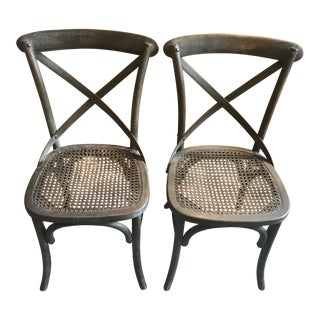 Restoration Hardware Madeleine Side Chairs - A Pair