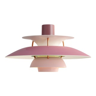 Poul Henningsen Rose PH5 Mini Pendant for Louis Poulsen For Sale