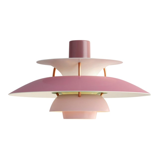 Poul Henningsen Rose PH5 Mini Pendant for Louis Poulsen For Sale