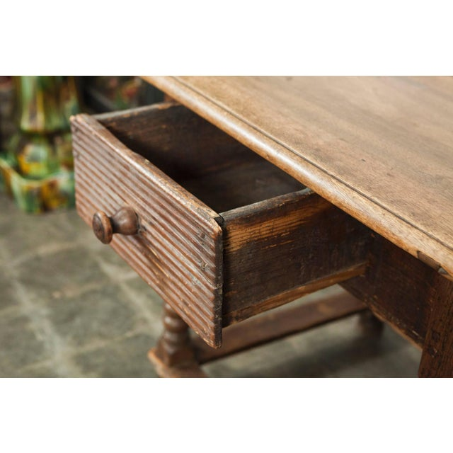 Wood 18th Century Italian Table For Sale - Image 7 of 8