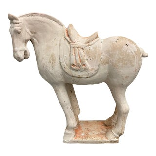 Antique Tang Style Pottery Horse
