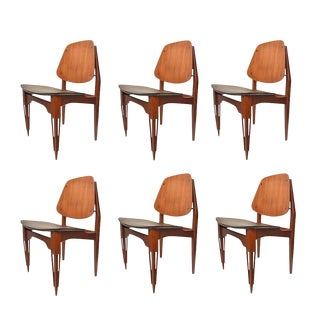 Fratelli Proserpio Design Chairs - Set of 6 For Sale