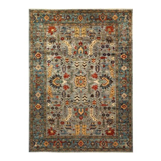 One-Of-A-Kind Oriental Serapi Hand-Knotted Area Rug, Jordy, 9' 1 X 12' 3 For Sale