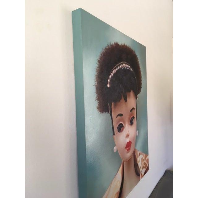 """Evening Splendour"" Barbie Oil Painting For Sale - Image 4 of 11"