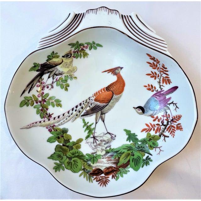 Mottahedeh Vintage Mottahedeh Chelsea Bird Shell Bowl For Sale - Image 4 of 10