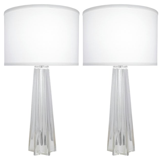 Mid-Century Modern Star-Shaped Customizable Murano Glass Lamps For Sale - Image 3 of 10