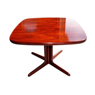 Beautiful Rosewood Danish Breakfast Dining Table for 4 People by Skovby, Mid Century Modern, Labeled