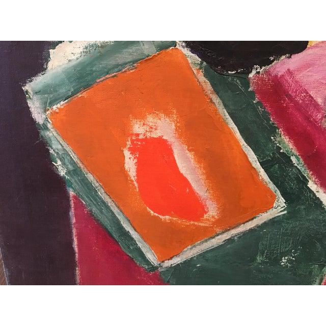 """Natura Moarta"" Abstract Still Life Painting - Image 5 of 10"