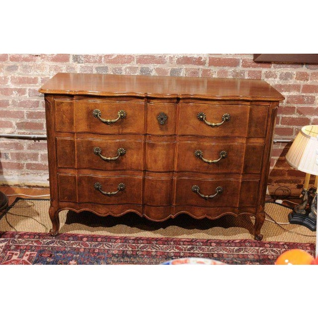 French Widdicomb Louis XV Style Commode For Sale - Image 3 of 9