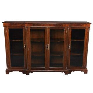 Four Door Bookcase For Sale