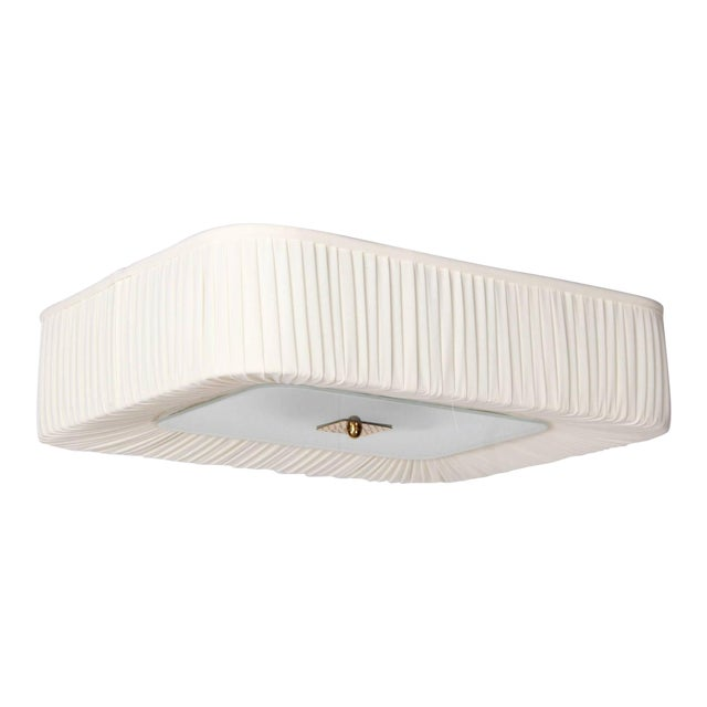 Flush Mount Light Fixture by Paavo Tynell for Idman - Image 1 of 10