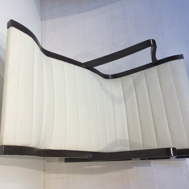 Wood Mitsumasa Sugasawa for Tendo Mokko Mid-Century Modern Heron Rocking Chair For Sale - Image 7 of 10