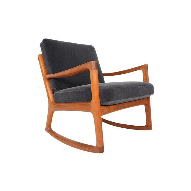 Ole Wanscher Teak Senator Rocking Chair - Image 1 of 8
