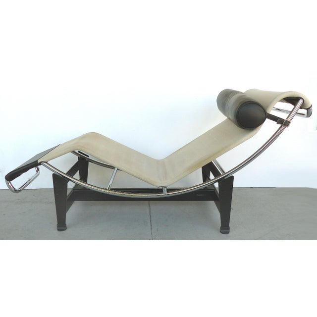 Cassina Lc4 Chaise Lounge by Le Corbusier, Jeanneret & Charlotte Perriand For Sale - Image 10 of 10