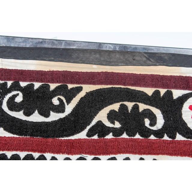 Embroidered Vintage Prayer Suzani - Image 5 of 7
