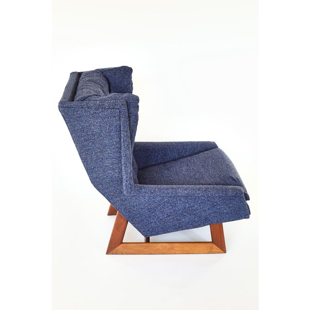 Modern Adrian Pearsall Wingback Chair For Sale - Image 3 of 7