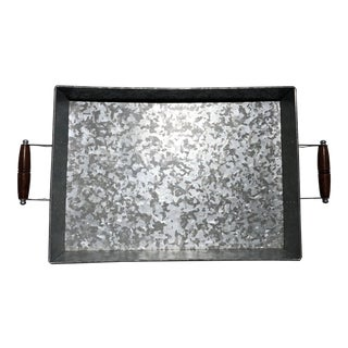 Galvanized Metal Tray For Sale