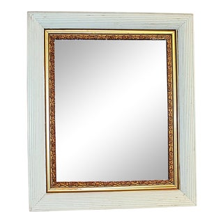 Late 19th Century Antique Painted Mirror For Sale