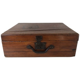 Early 19th Century Mahogany Chest For Sale