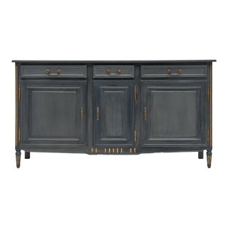 Louis XVI Style French Painted Buffet For Sale