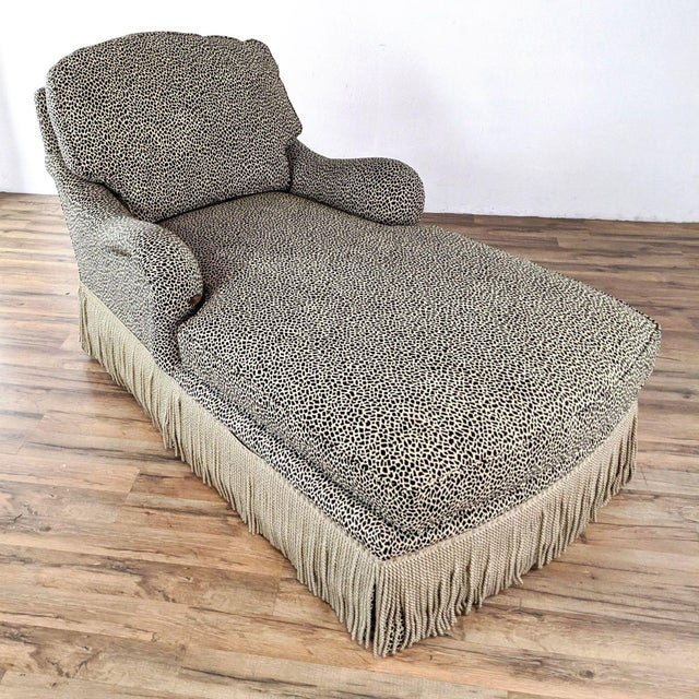 Jessica Charles Chaise Lounge For Sale - Image 4 of 10