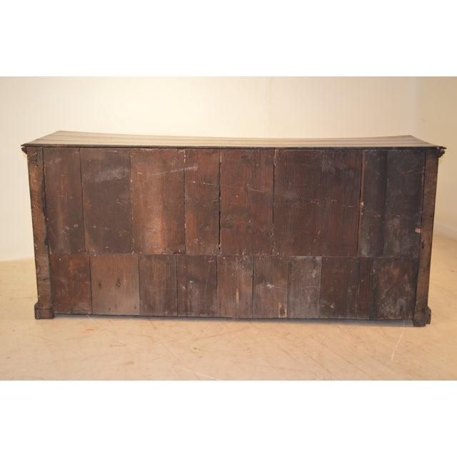Brass 18th Century English Oak Dresser Base For Sale - Image 7 of 10