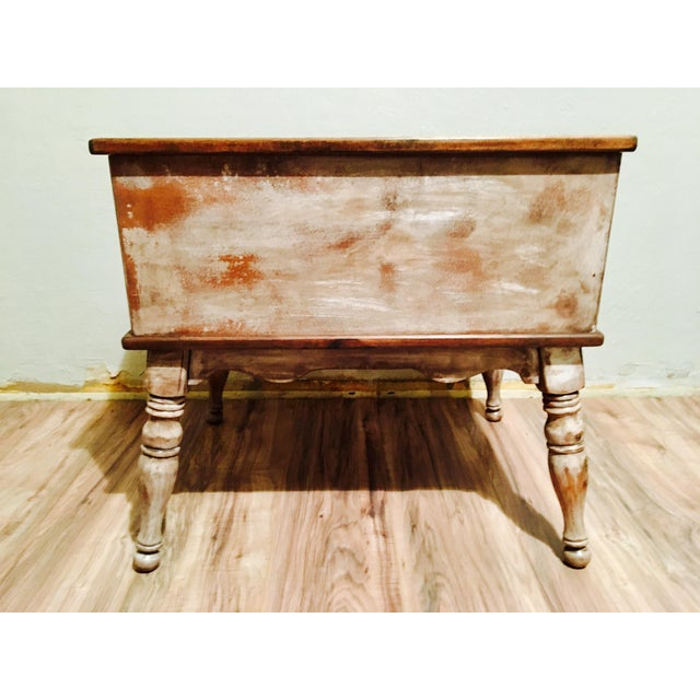 Farmhouse Rustic Side Table - Image 11 of 11