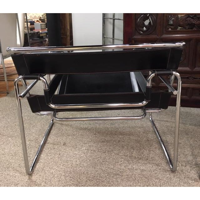 Milo Baughman Pair Marcel Breuer Wassily Chairs For Sale - Image 4 of 9
