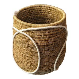Swaziland Handwoven African Basket For Sale